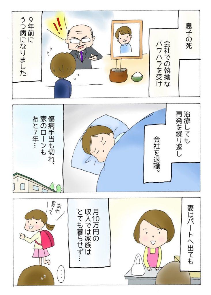 【うつ病障害年金漫画】辻田哲がうつ病を発症した原因